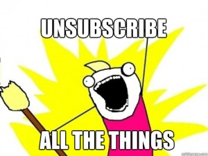 Unsubscribe All the Things